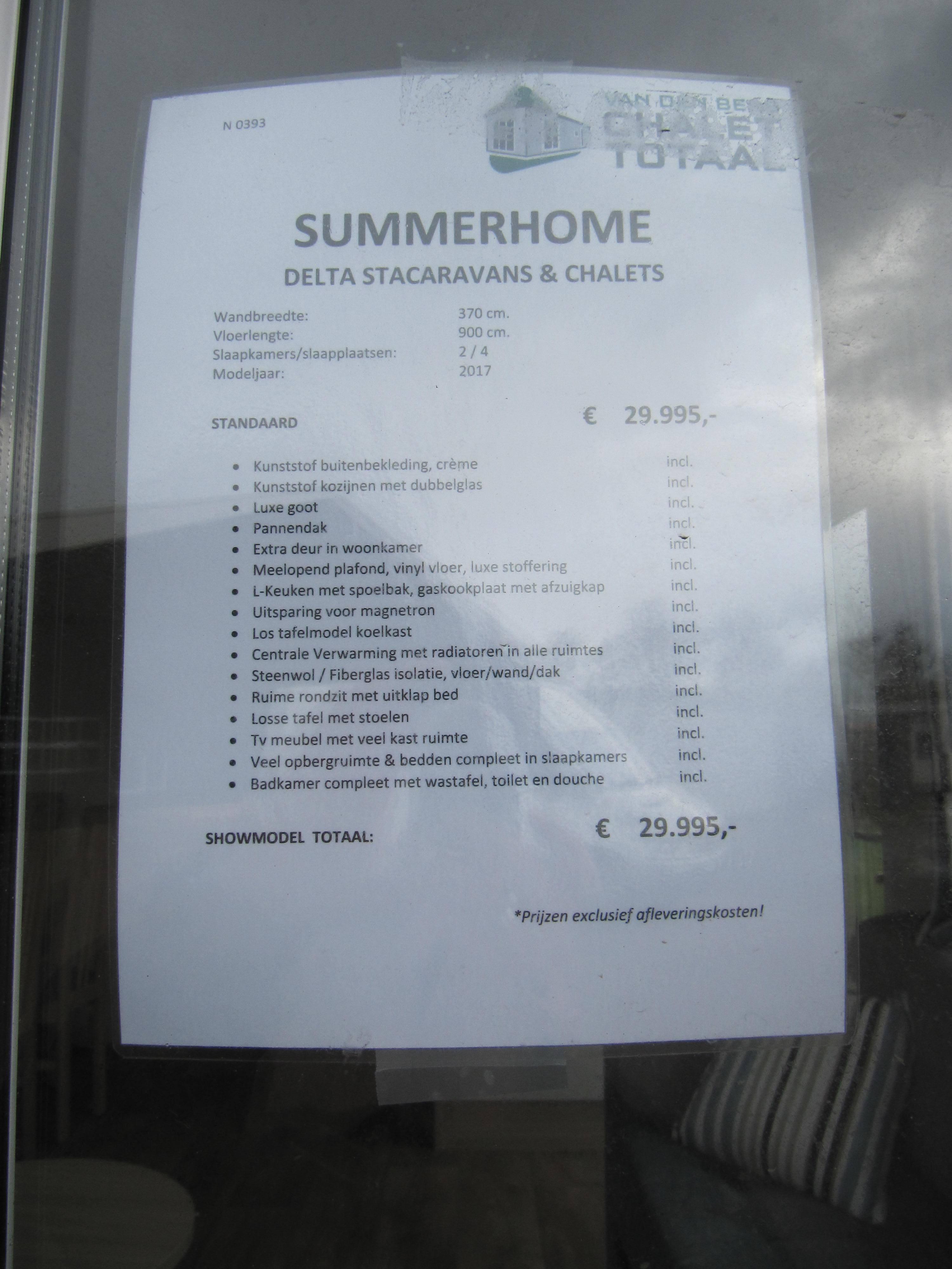 SUMMERHOME 900/2