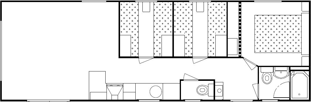 DELTA SPRINGHOUSE 1130X385 – 3 Slpk.