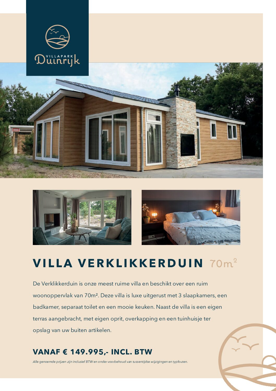 Villapark Duinrijk Verklikkerduin